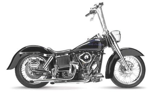 Le Pera Bare Bones Solo Vinyl Seat for 1964-1984 Harley Davidson FLFX Models - HD FLH Electra Glide 1964
