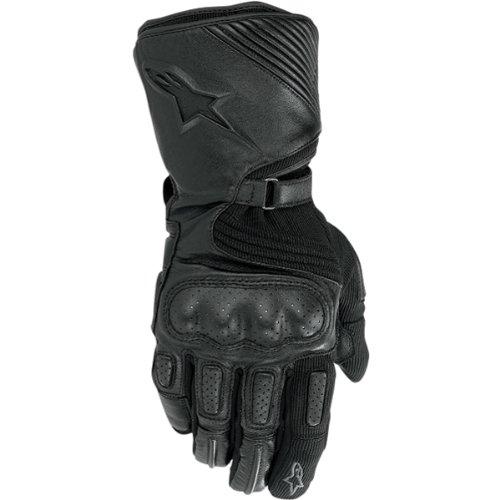 Alpinestars Apex Drystar Men's Waterproof Sports Bike Racing Motorcycle Gloves - Black / 3x-large