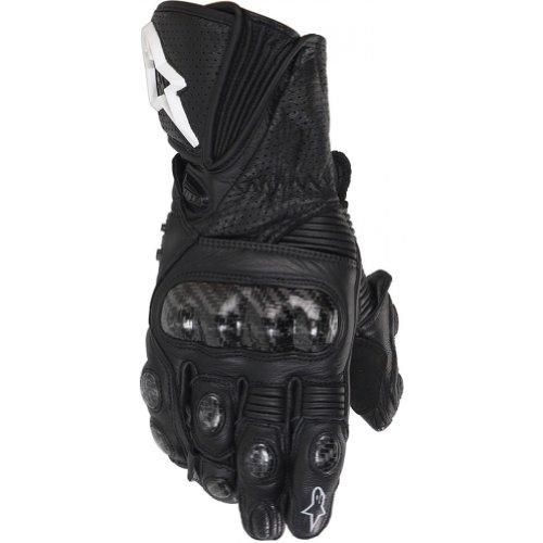 Alpinestars Stella Gp Plus Women's Leather Street Racing Motorcycle Gloves - Black / Large