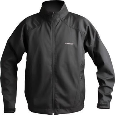 Venture Battery Powered Heated Jacket  Gender MensUnisex Primary Color Black Size Lg Apparel Material Textile Distinct Name Black 9690M L
