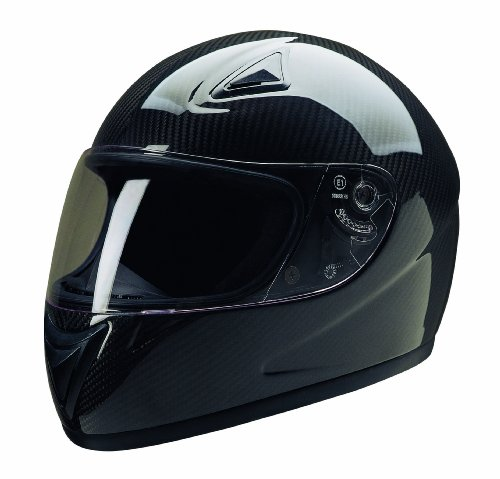 HCI Carbon Fiber Full Face Helmet Carbon Large