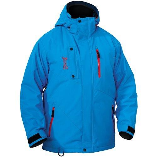 CASTLE X RACEWEAR CORE MENS SNOWMOBILE JACKET BLUE 2XL