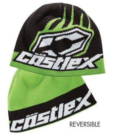 Castle X Racewear Beanie Hat Flip-It Green