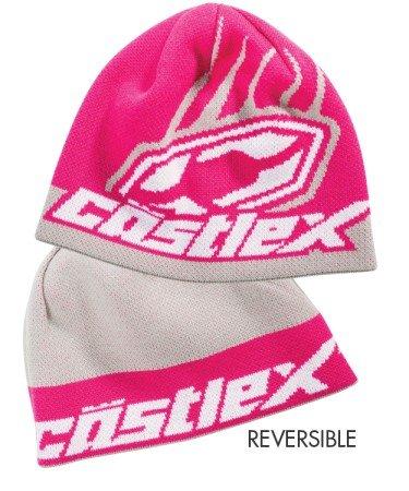 Castle X Racewear Beanie Hat Flip-It Magenta Pink