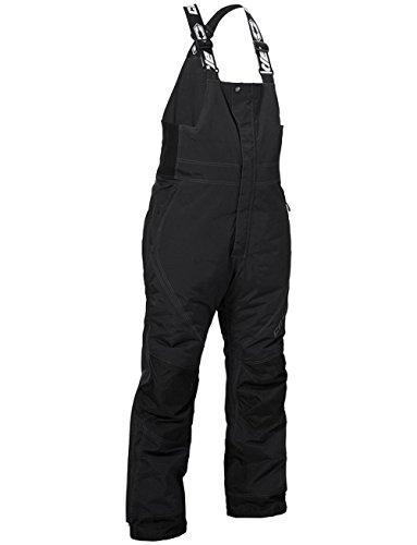 Castle X Racewear Phase Mens Snowmobile Bibs Black 4XL Short