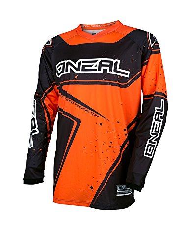Element Racewear Jersey BlackOrange Medium