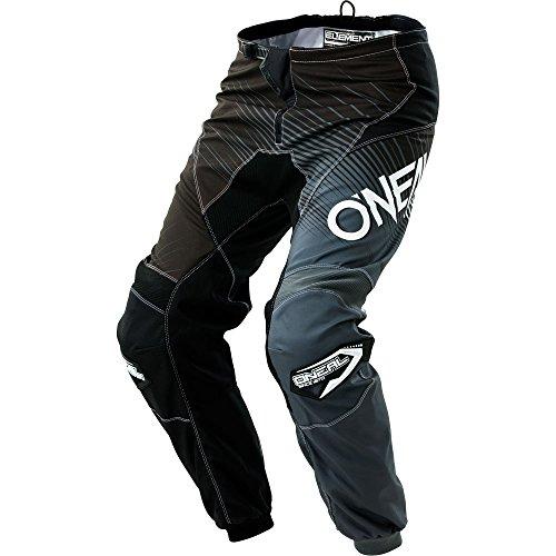 ONeal Mens Element Racewear Pant BlackGray Size 34