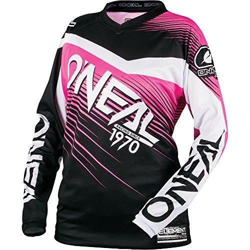 ONeal Womens Element Racewear Jersey BlackPink Medium