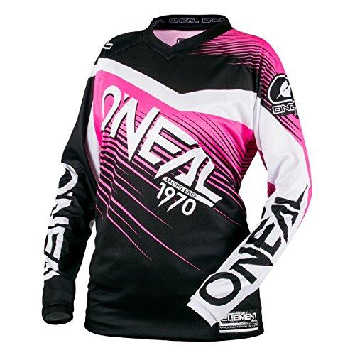 ONeal Youth Element Racewear Jersey BlackPink Medium