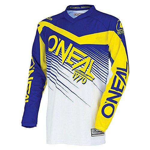 ONeal Youth Element Racewear Jersey BlueYellow Medium
