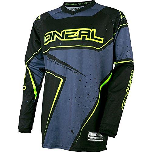 ONeal Yth Element Unisex-Child Racewear Jersey BlackGrayHi-Viz Small