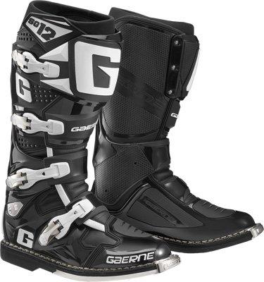 Gaerne SG-12 Boots Distinct Name Black Gender MensUnisex Size 9 Primary Color Black 2174-001-009