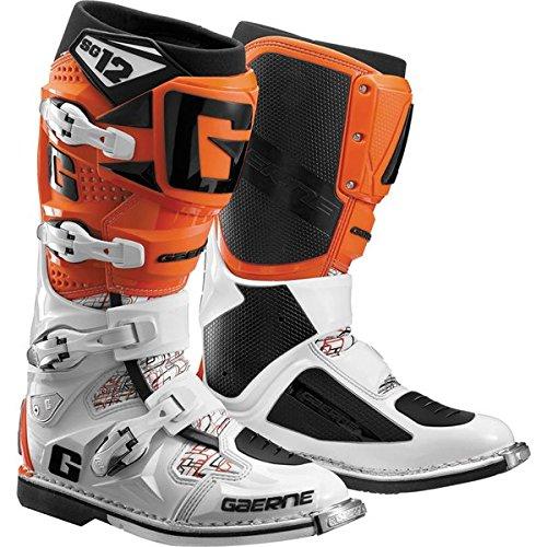 Gaerne SG-12 Boots Primary Color Orange Size 8 Distinct Name Orange Gender MensUnisex 2174-018-08