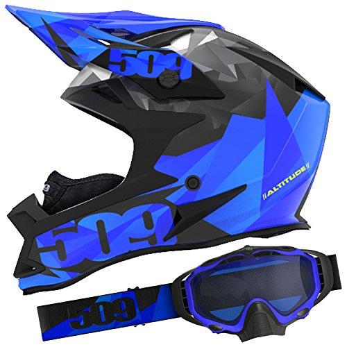 509 Blue Triangle Helmet Goggle Combo - XL