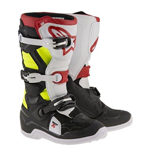Alpinestars Tech 7S Youth Motocross Boots - BlackRed - Youth 7