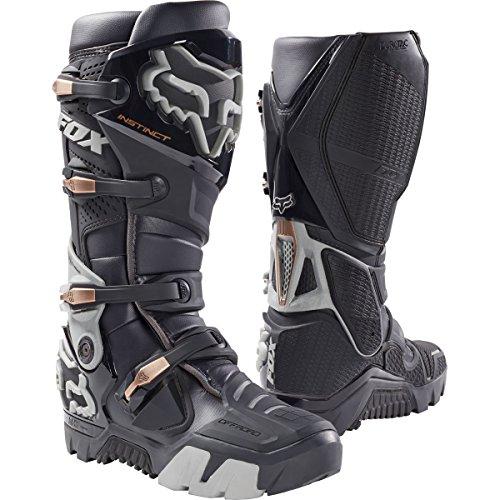 Fox Racing Instinct Offroad Mens Motocross Boots - Charcoal - 8