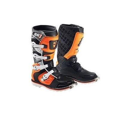 Gaerne 2016 Gaerne SG-J Kids Motocross Boots Black Orange MX KTM SIZE 4