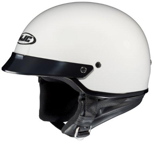 HJC CS-2N Motorcycle Half-Helmet White Large