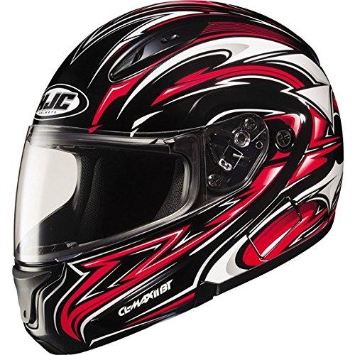 HJC Atomic Modular Mens CL-MAX II Full Face Motorcycle Helmet - MC-1  Medium