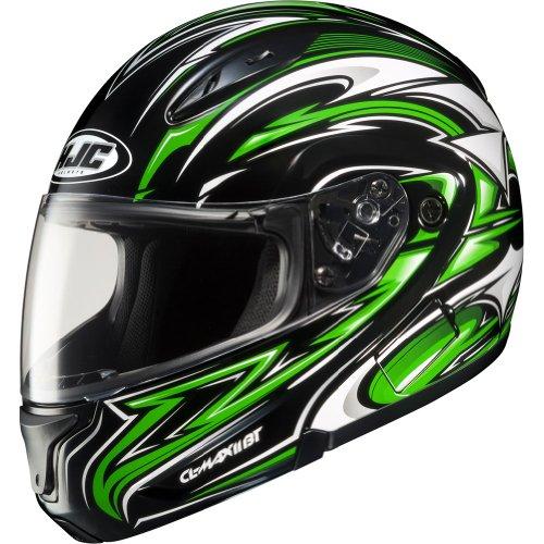 HJC Atomic Modular Mens CL-MAX II Full Face Motorcycle Helmet - MC-4  2X-Large