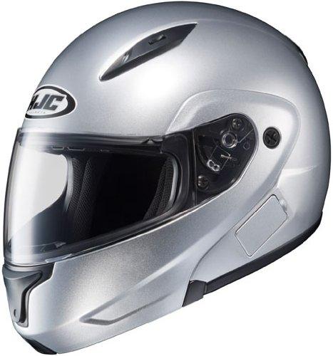 HJC CL-Max 2 Modular Motorcycle Helmet Light Silver Extra Large XL
