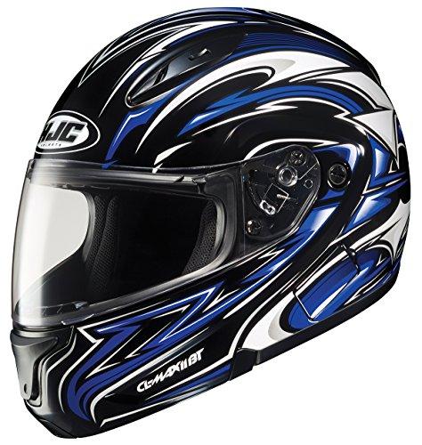 HJC CL-MAXBT II Atomic Bluetooth Modular Motorcycle Helmet MC-2 XXX-Large