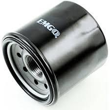 Black Spin-On Oil Filter for Ducati 796 Monster 2011-2014