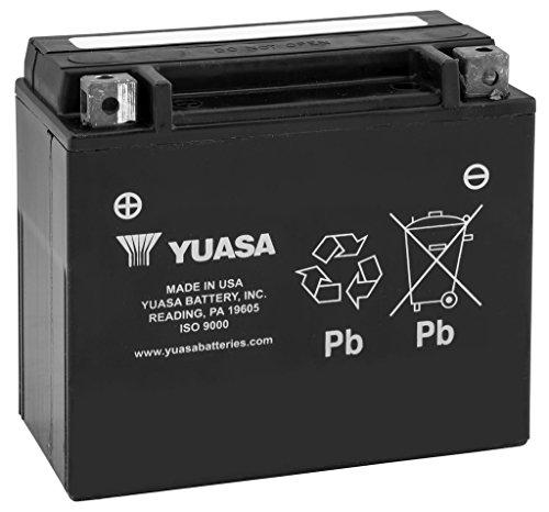 New Yuasa Maintenance Free Motorcycle Battery - 2014-2015 Kawasaki Ninja 1000