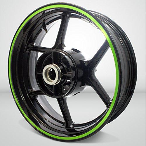 Thick Outer Rim Liner Stripe for Kawasaki Ninja 1000 Gloss Light Green