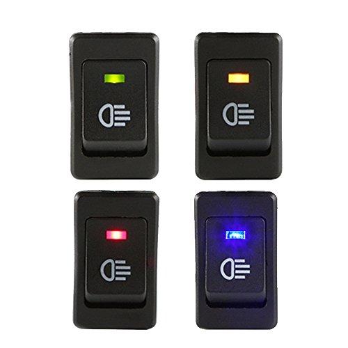 E Support Car LED Fog Toggle Switch