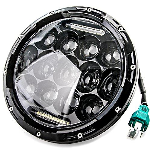 NEW 7 Motorcycle Projector Daymaker DRL For Harley-Davidson Light LED Headlight for Harley Davidson Fat Boy EFI FLSTFI 2001-2006