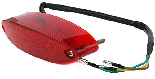 12V Red 28LED Brake Tail License Plate Integrated Light For 2009 Harley-Davidson Rocker C FXCWC