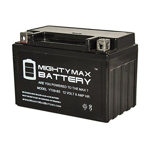 YTX9-BS SLA Battery for Kawasaki 636 ZX636-B C Ninja ZX-6R '03-'14 - Mighty Max Battery brand product