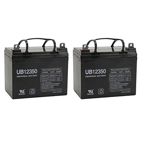 UPG 85980D5722 Sealed Lead Acid Battery 12V 35 AH UB12350 - 2 pack