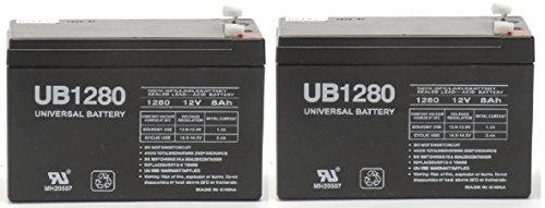 Universal Power Group Inc 86449 Battery Sealed Lead Acid Ub1280 Pack of 2