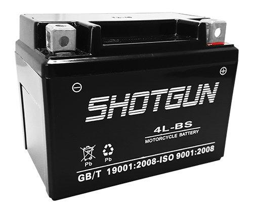 SHOTGUN YTX4L-BS Scooter Battery for Yamaha 50cc CW50 Zuma II 2000