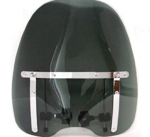 Smoke 1816 Tinted Windshield for Kawasaki Yamaha Honda Suzuki Harley Motorcycle