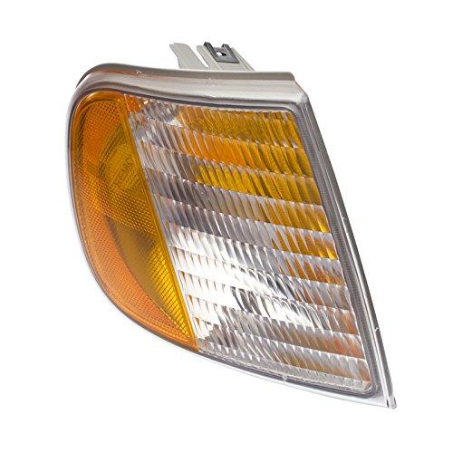 CarPartsDepot 97-03 Ford F150 Turn Signal Lamp Light Lens Hsg FO2551118 For F75Z13200AC Right