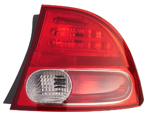 06-08 HONDA CIVIC SEDANHYBRID Right Passenger Rear Tail Light Lamp