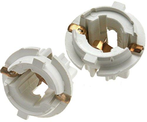 2pcs Rear Tail Light Lamp Bulb Socket Holder P21W For BMW X5 E53 E70 F15 F85
