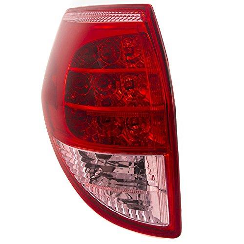 CarPartsDepot Rear Facial Brake Tail Light Lamp Left Side Fit 06-08 Toyota RAV4 TO2818127