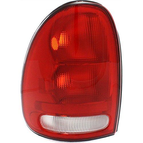 Evan-Fischer EVA15672012520 Tail Light Lamp Driver Left LH Side Clear Red Lens Halogen