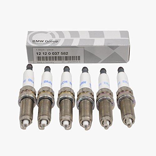 BMW Spark Plugs Plug Set High Power Genuine Original 12120037582 6pcs