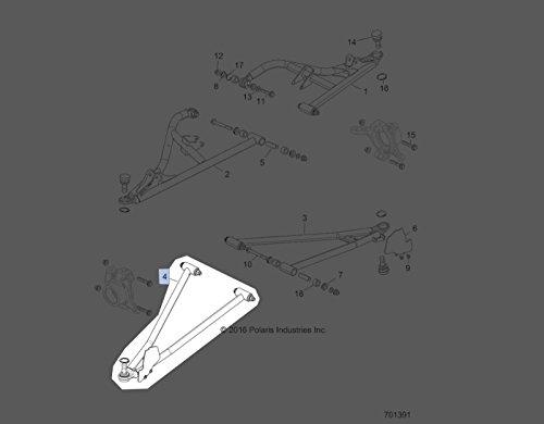 Polaris 2017-2018 RZR XP 1000 Lower Control Arm 1021481-293 New OEM