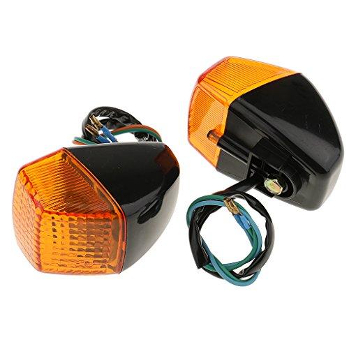 MagiDeal Motorcycle LED Turn Light Bulb Signal Indicators Lamp Blinkers for Honda VFR400 CBR250