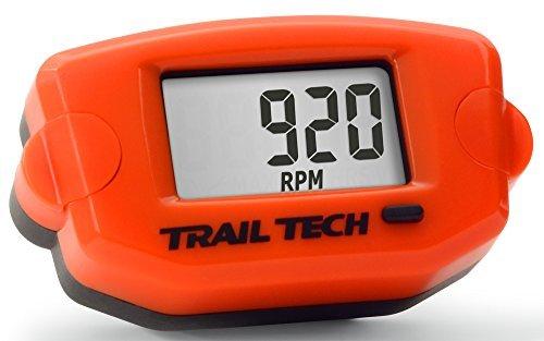 Trail Tech 743-A00 TTO TachHour Meter - Orange
