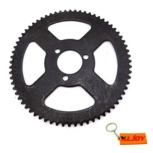XLJOY 25H 68 Tooth Rear Chain Sprocket for 47cc 49cc Minimoto Pocket Dirt Bike ATV Quad