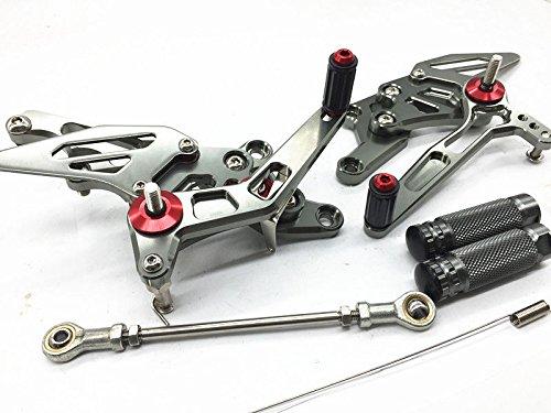 CNC GP Shift Racing Rear set Rearsets Foot peg pegs For YZF R3 R25 2014-2016