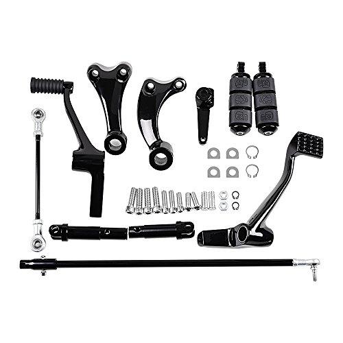 Forward Controls Kit For 14- 17 Harley XL1200C 1200T XL1200T XL1200CX XL1200V XL1200X XL883L XL883N