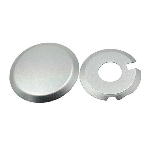 Ignition Clutch Case Savers Engine Guards Kit For Suzuki DRZ400 DR-Z400S DRZ400SM Silver